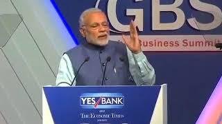 PM Modi's address at Global Business Summit , pm modi , Indian PM modi species