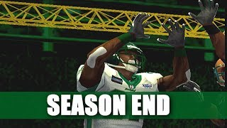 MOST YARDS EVER IN A SEASON - ARENA FOOTBALL ROAD TO GLORY - SEASON END