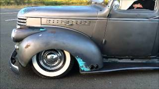 1946 Chevy Truck  Air Ride Bagged