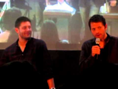 JIB 3: Misha crashes Jensen's panel and talks about recasting Dean