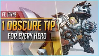 1 OBSCURE TIP/TECH for EVERY HERO ft. Jayne
