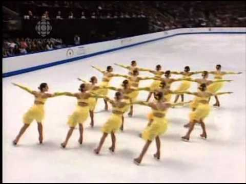 The 2007 Synchronized Skating World Championships - Pt. 1