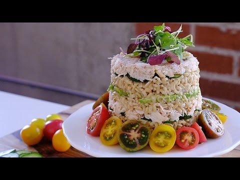 California Roll Sushi Cake Recipe | Eat the Trend