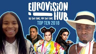 Eurovision Song Contest 2018 Top 10 | Reaction Video