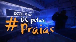 #DCpelaspraias: Entramos! Conheça o Ice Bar, o bar de gelo em Balneário Camboriú
