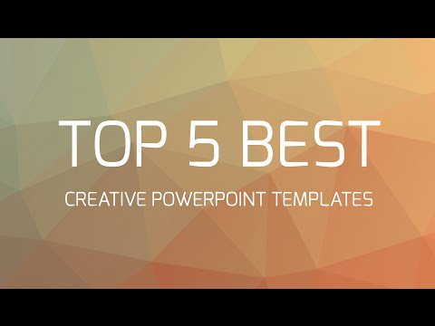 Top 5 Best Creative Powerpoint Templates