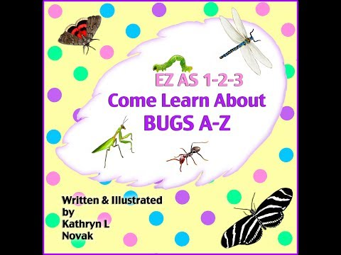Children's Bug Book &amp  Alphabet Book Of Insects For  Kids