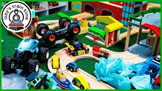 Cars for Kids!! THOMAS AND FRIENDS FIXIT AUTOMOBILE CITY