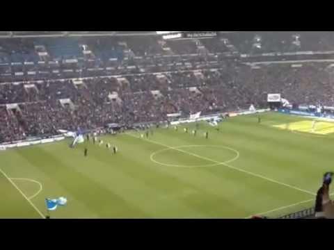 Schalke 04 - 1899 Hoffenheim Einlauf