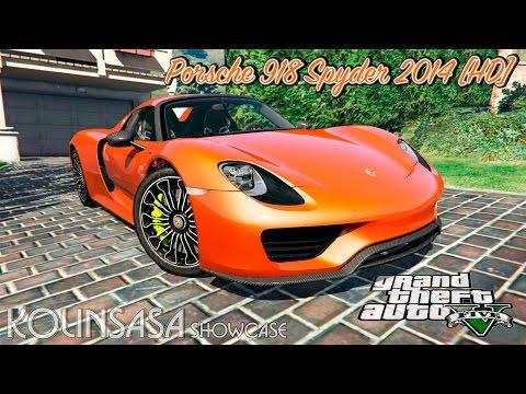Porsche 918 Spyder 2014 [HD]