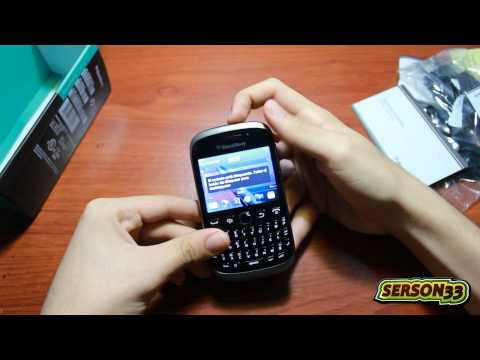 Unboxing y Review - Blackberry 9320