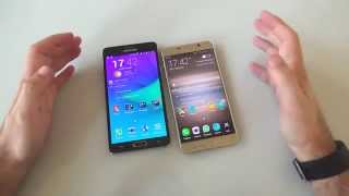 Samsung Galaxy Note 4 vs Galaxy Note 5: il confronto di HDblog.it