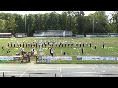 Happy Valley High School Marching Band 1st Contest 2013