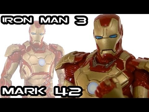 IRON MAN 3 MARK 42 Action Figure Review