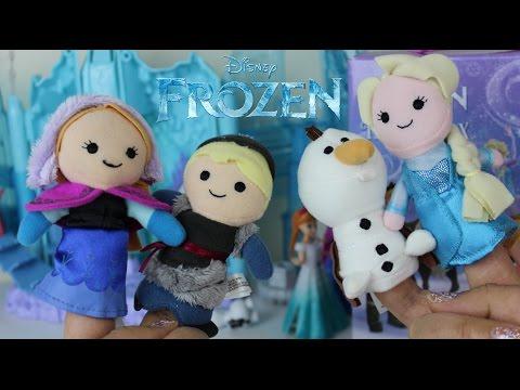 Titeres Disney Frozen Elsa Anna Olaf y Kristoff |Una Aventura Congelada