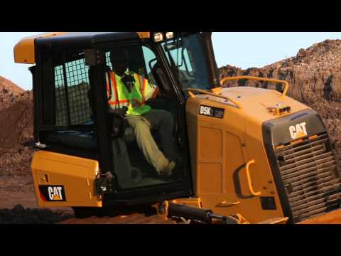 Cat® K2 Small Dozers at Work