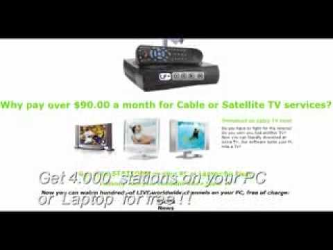 Satellite Tv For PC Software New 2010