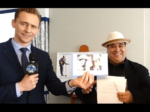 """Tom Hiddleston Channels Hank Williams in """"I Saw The Light"""" San Francisco Interview w/ Marc Abraham!"""