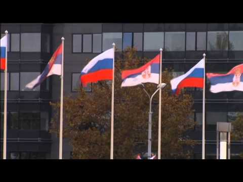 Putin Visits Serbia: Russian leader lays wreath and meets with Serbian counterpart in Belgrade
