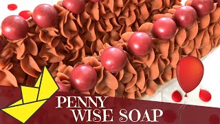 Making Of We All Float Down Here Cold Process Soap Inspired be Pennywise | 🤡 | GYPSYFAE CREATIONS