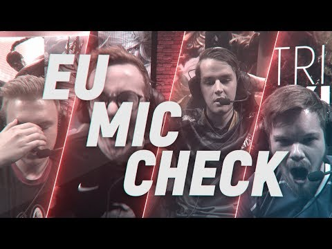 EU LCS Mic Check: Week8 | Spring Split 2018