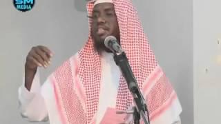 17 4 15 Calaamadaha lagu garto inuu daciifay iimaanka   khutbah Sh Maxamed Umal