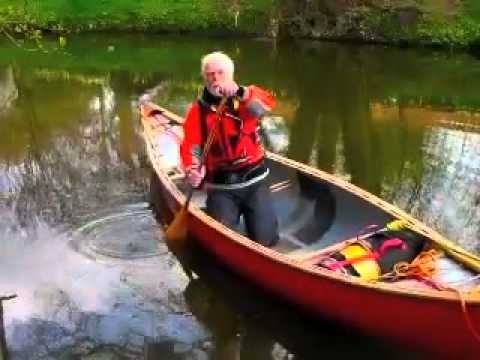 Open canoe for Beginners - How to do a J Stoke (Part 1)