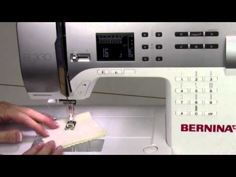 Bernina 330 12  Mending Stitch