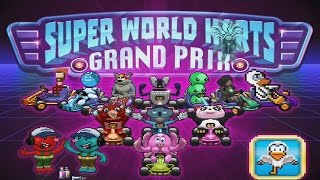 Super World Karts (by One Legged Seagull) iOS / Android / Ouya - HD (Sneak Peek) Gameplay Trailer
