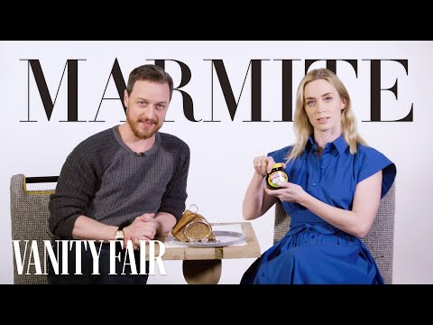 Emily Blunt and James McAvoy Explain a Typical British Day   Vanity Fair
