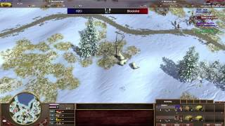 [AOE3] Finals Spring Championship - H2O vs Blackstar BO 9 w/ Veni & Interjection - Part 1