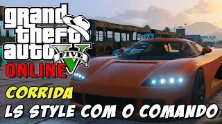 GTA 5 Online - Corrida Cornhole LS Style: Curvas e saltos com o comando