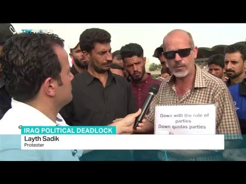 Sadr loyalists end protests in 'Green Zone', Tuna Sanli reports from Baghdad