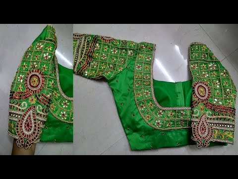 Latest Stylish and Designer Blouse Back Neck Designs || New Blouse Design || Blouse Back Neck Models