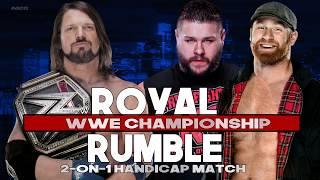 WWE Royal Rumble 2018 Match Card Predictions (w/Custom Graphics) + download