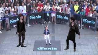 EXO-K _ AR SHOW with Genie(2012.05.12.) _ S04 'Dance with KAI & SEHUN' in Seoul, Korea