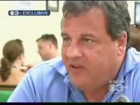 Governor Chris Christie's interview with CBS-3 Philly on Jersey Shore Tourism & Politics