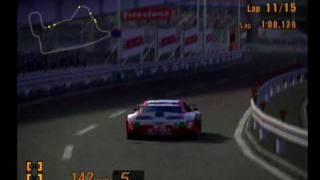 Gran turismo 3 JGTC Endurace Race 1 Tokyo Route Super GT