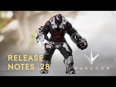 Paragon - Release Notes .28