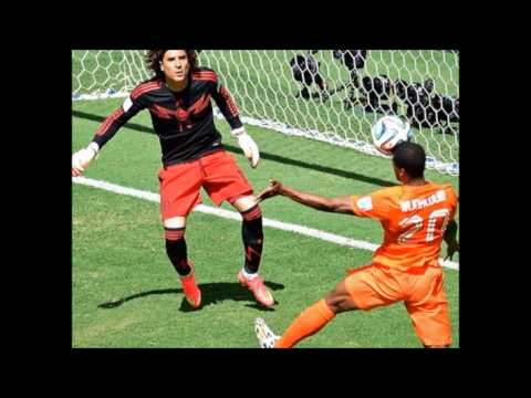 World Cup 2014: Netherlands Defeats Mexico, 2-1, goals, highlights
