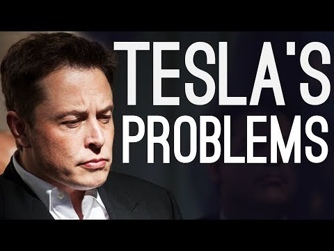 Tesla's Problems – Elon's Sleeping in the Factory Again..
