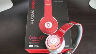 Beats by Dr. Dre (Solo HD) Unboxing