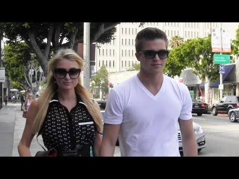 Paris Hilton Shops For Clothes With Boyfriend River Viiperi