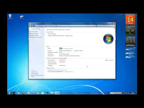 (HD) Windows 7 RTM Final Build 7600