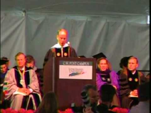 CW Post Campus of Long Island University Commencement Address 2009 Video