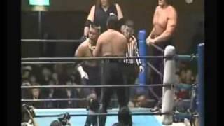 Giant Sing(Great Khali) & Giant Silva & Masahire Chone VS Tatsutoshi & Hiro & Hiroyoshi