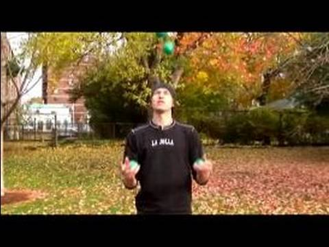 Introduction to Four Ball Juggling - Paul Halter - Comic Juggler