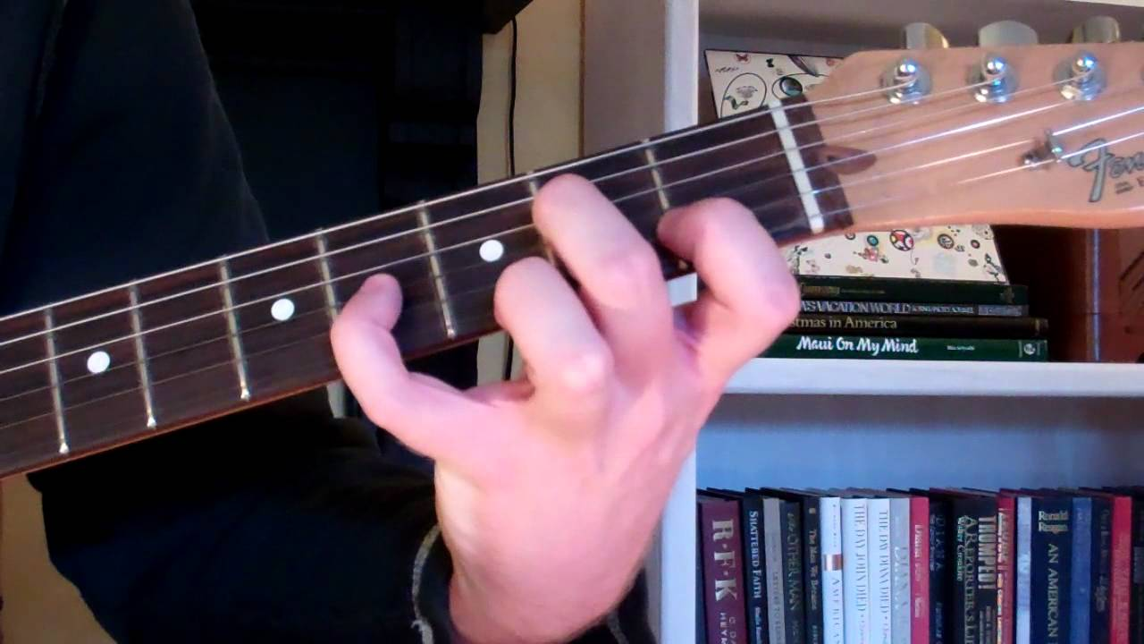 How To Play The Am9 Chord On Guitar A Minor Ninth Youtube