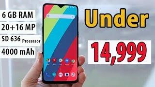 Best Smartphone Under 15000 l 2018 l Best Notch Display & Dual Camera Phone Under 10000 to 15000