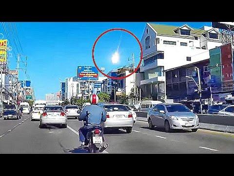End Times News 2015 - Mystery Fireball lights up sky over Bangkok